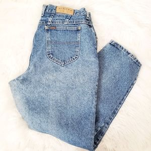 Vintage 90s Riders High Rise Distressed Mom Jeans